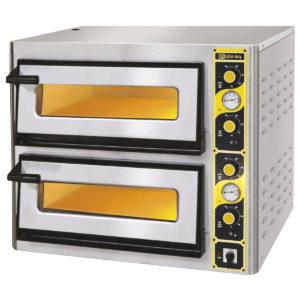 Four à pizza électrique 2 niveaux 680 x 680 mm
