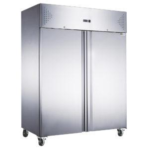 Armoire froide 2 portes négative inox GN 2/1