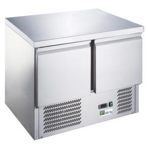 Table réfrigérée 2 portes compact