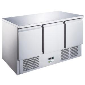Table réfrigérée 3 portes compact