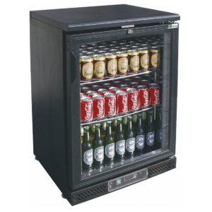 Arrière bar réfrigéré 1 porte vitrée battante
